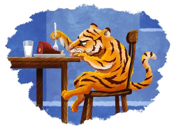 Picky Tiger